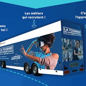 LA TOURNéE DU BUS DE L'APPRENTISSAGE